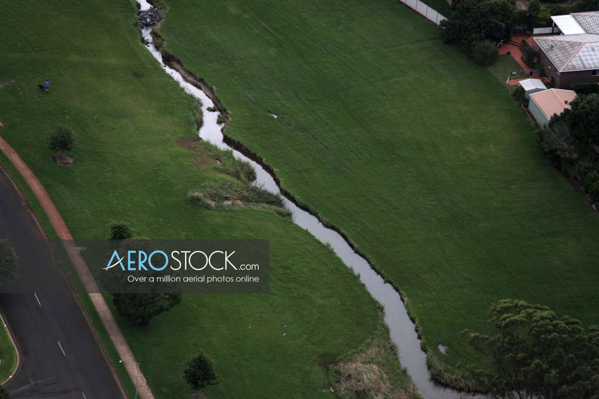 Aerial stock photo of Toowoomba