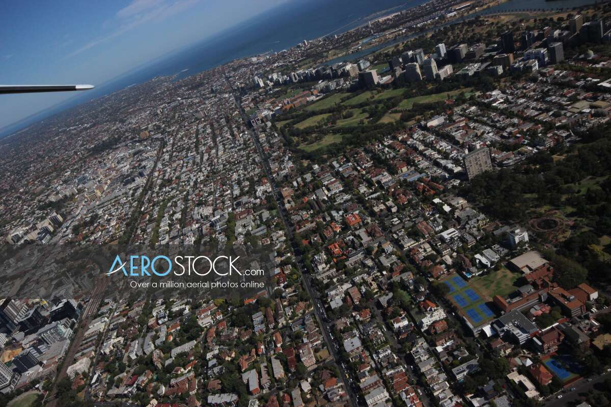 Full size stock photo of East Melbourne, Victoria.