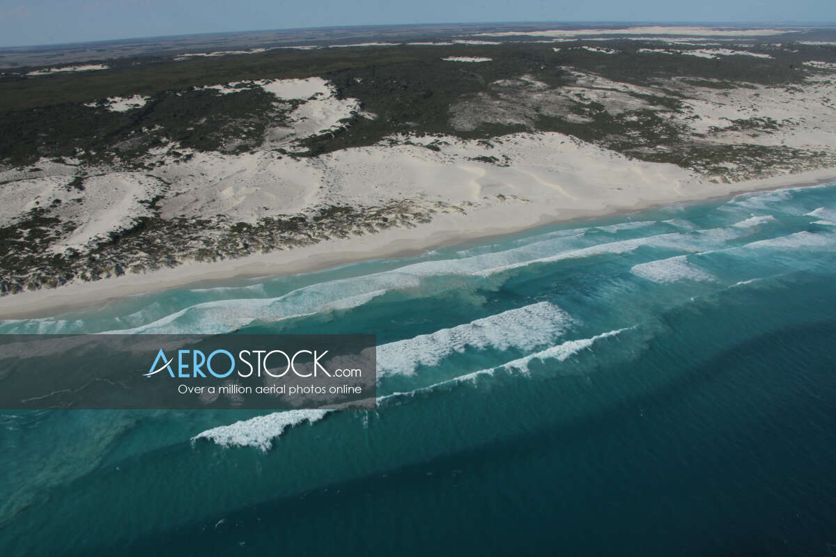 Panoramic aerial photo of Esperance taken on March 29th, 2012 17:20.