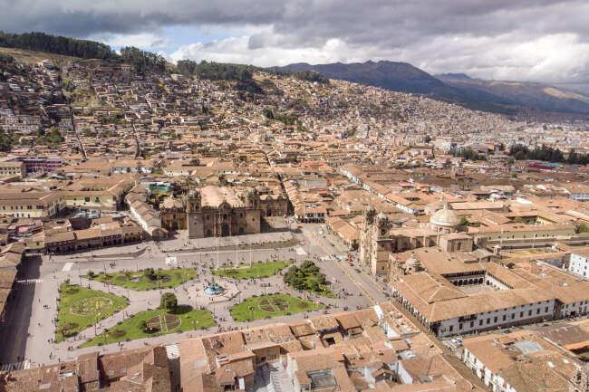 Plaza De Armas , Cusco Peru