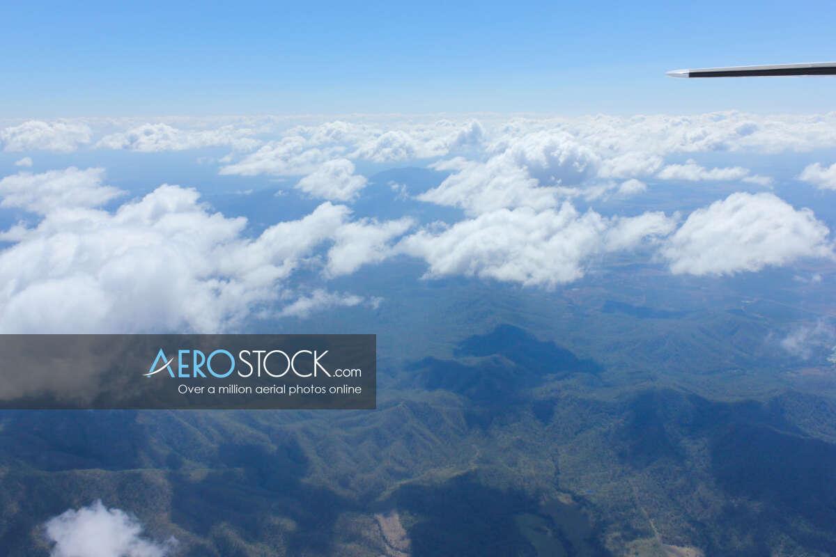 UAV panoramic aerial photo of Koumala, 4738, Australia