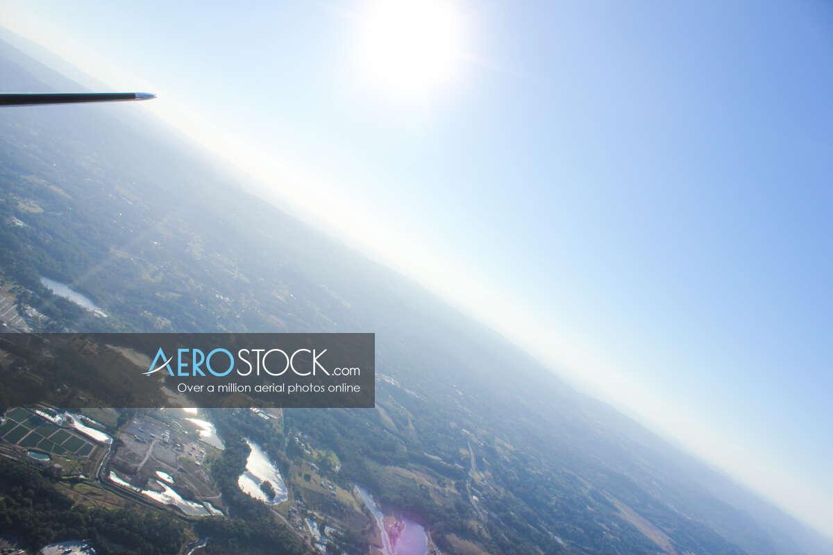 High quality panoramic aerial photo of Sunshine Coast
