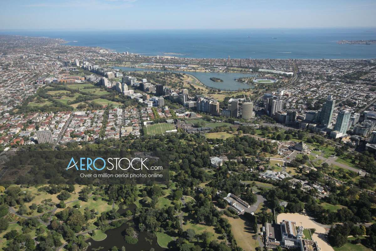 Stock image of East Melbourne.