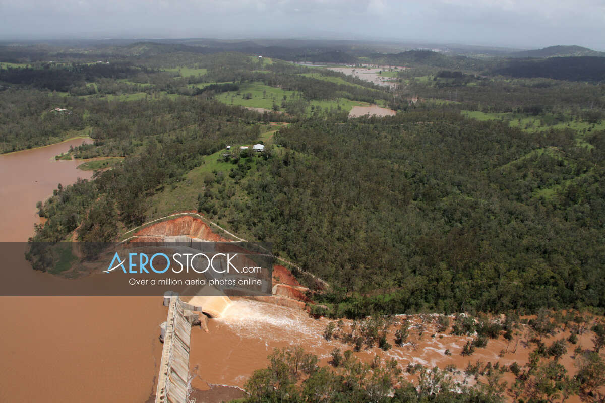 High resolution image of Lake Manchester in QLD.