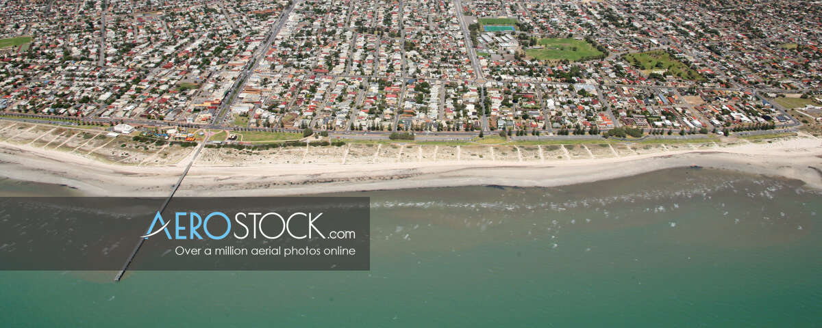 Quality sky-high pic of Port Adelaide Enfield