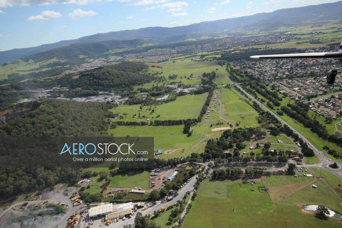 High res stock photo of Oak Flats, New South Wales.