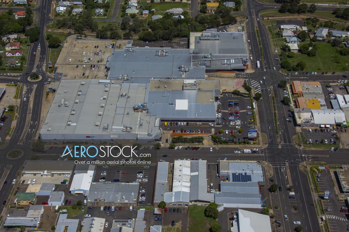 Drone panoramic aerial photo of Bundaberg, 4670, Australia