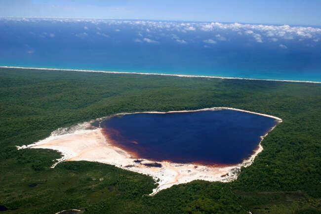 Fraser Island 4581, Lake Boomanjin